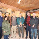 Socios de Voces Mineras que participaron en la visita a Huilo Huilo