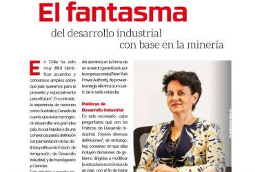 El fantasma del desarrollo industrial con base en la minería