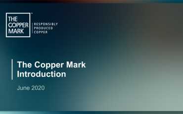 ICA publica última versión de la iniciativa The Copper Mark