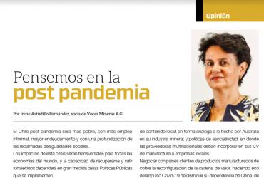 Pensemos en la post-pandemia