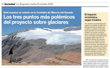 Los tres puntos más polémicos del proyecto sobre glaciares
