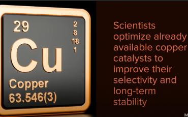El cobre puede ser la clave para convertir el CO2 en combustible