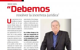 """Sergio Jarpa: """"Debemos resolver la incerteza jurídica"""""""